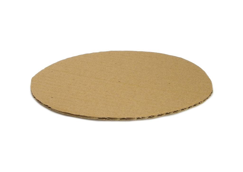 plancha de cartón circular para hacer base del centro de mesa de navidad
