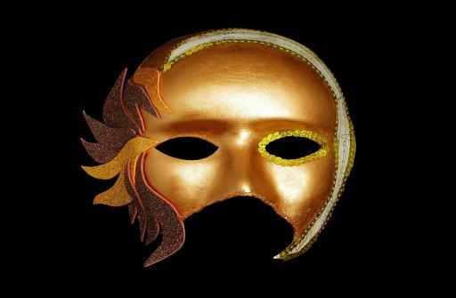 mascara veneciana para el disfraz de carnaval