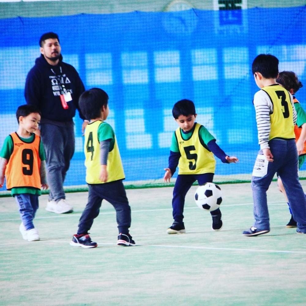 kids soccer class