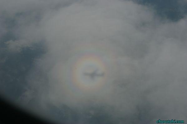 空の上の虹