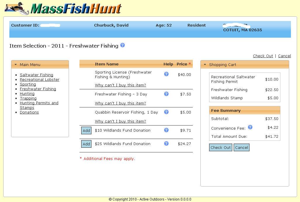 Oceanic libertarianism the massachusetts saltwater for Massachusetts freshwater fishing license