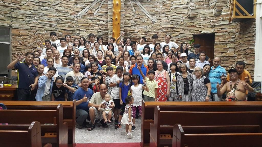 野外禮拜到布農族人倫教會
