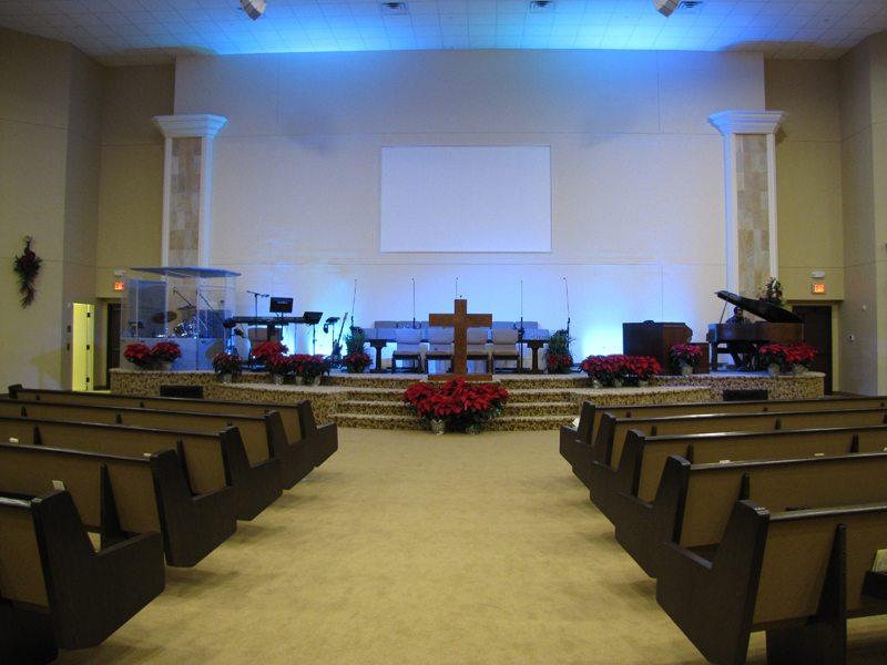 Church Audio Video Projects - Life Church, Dallas, TX