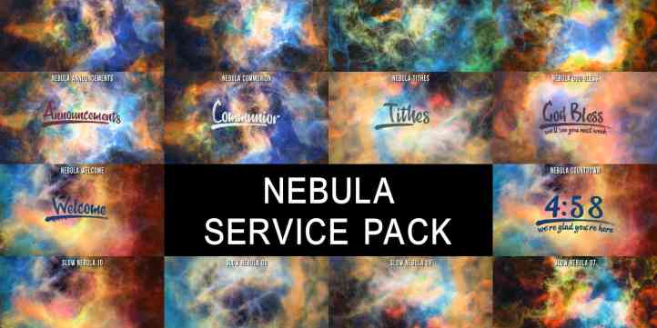 Nebula Service Pack Preview