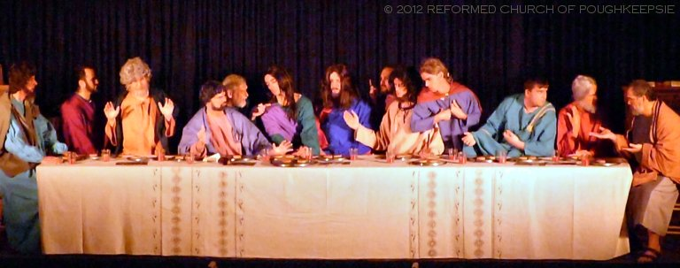 The Reformed Church Of Poughkeepsie Living Last Supper
