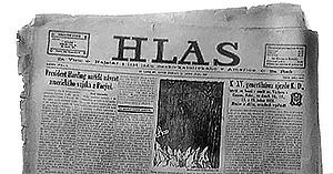 """Alas"" newspaper"