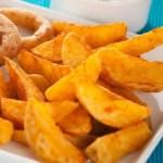 Frozen Spicy Potato Wedges 500g Bag
