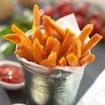 Frozen Sweet Potato Chips 500g Bag