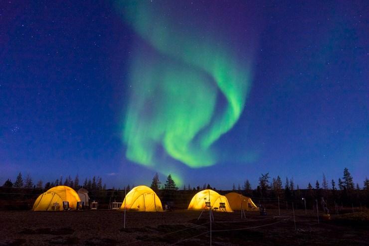 Tundra Camp at Schmok Lake. Jad Davenport photo.