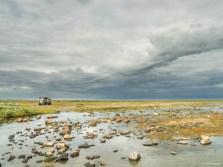Nanuk Polar Bear Lodge sweeping landscape.