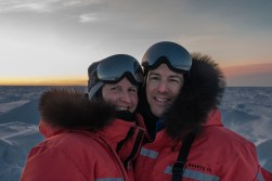 Christoph and Fabienne Jansen. Nanuk Polar Bear Lodge.