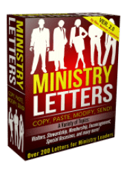 Ministry Letters 2.0 - Ebook Software