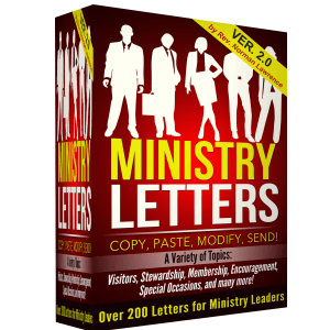 Ministry Letters Version 2.0