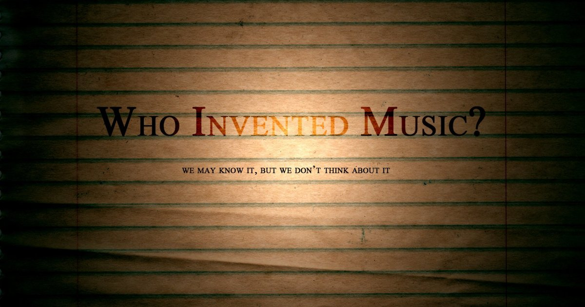 who invented music?, music, God, worship,