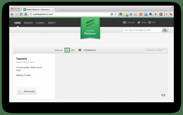 subtle website backgroud patterns