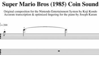 Finger-Snapping the Super Mario Bros Theme Music [Video