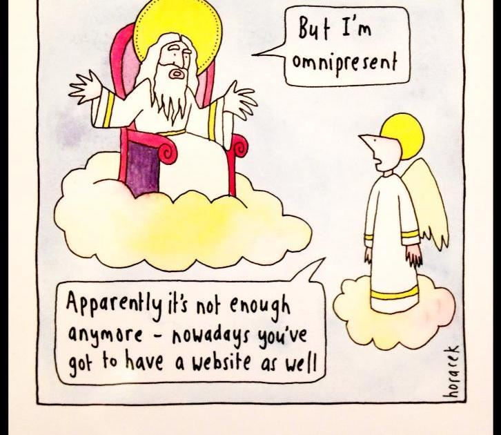 God omnipresent vs online presence