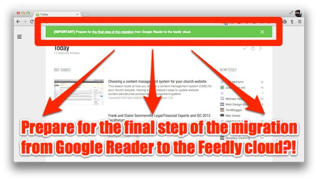 Feedly Screen