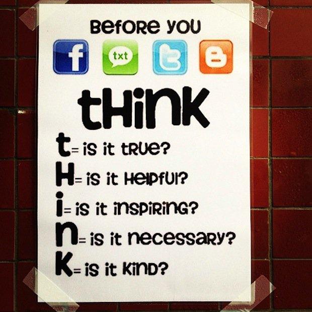 Social Media Rule Sign