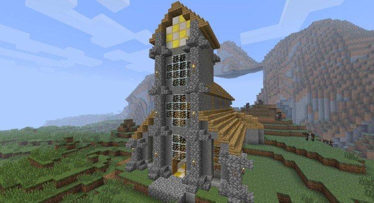 2nd Minecraft church 01