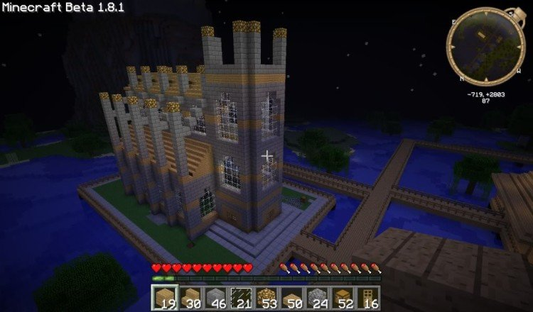 How to build a Minecraft church 16