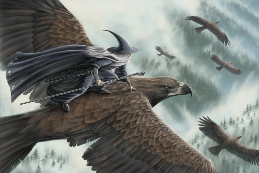 Proof: Gandalf Planned on Flying to Mount Doom