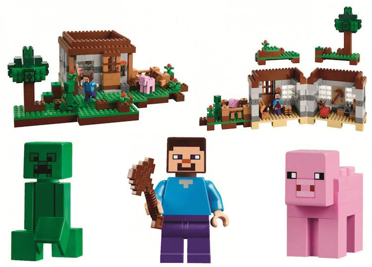 minecraft legos 4