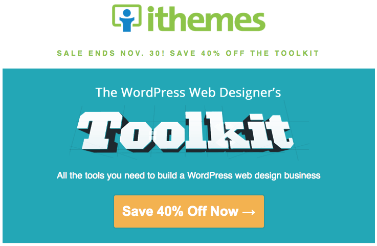 iThemes Toolkit Screen