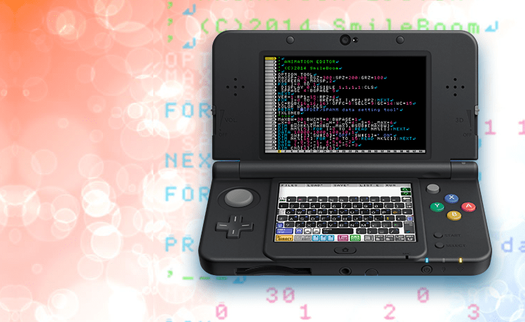 SmileBasic nintedo 3ds computer programing learning game