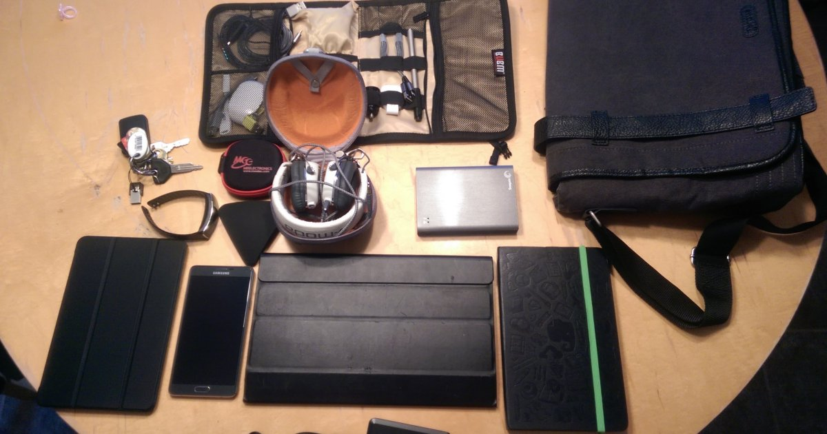 What's in Your Bag, Tre Lawrence?