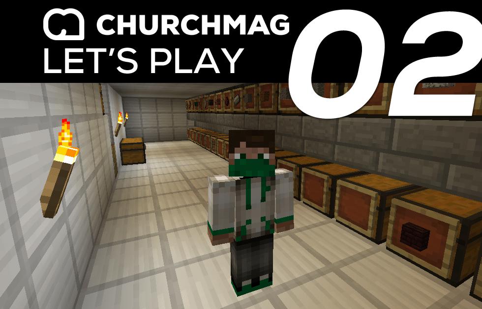 Minecraft: Let's Play #2 Item Sorter