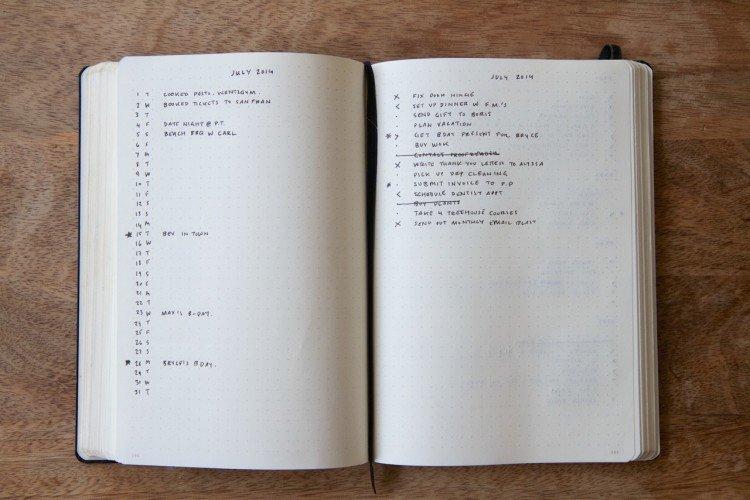 The Bullet Journal A High Caliber Notebook Churchmag