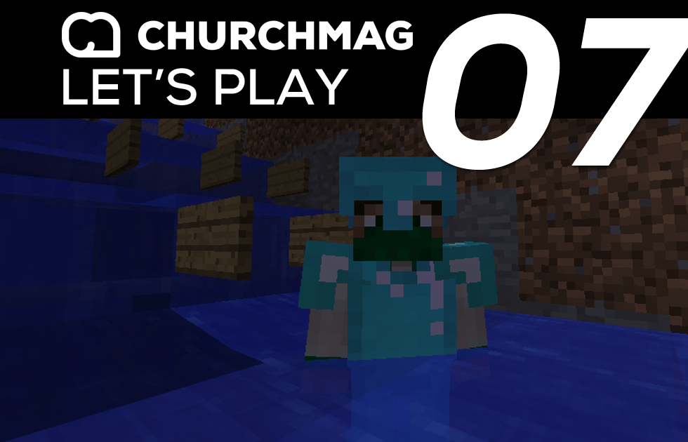 Minecraft: Let's Play #7 – Water Race Track Complete