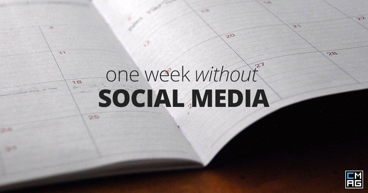 A Week Away from Social Media