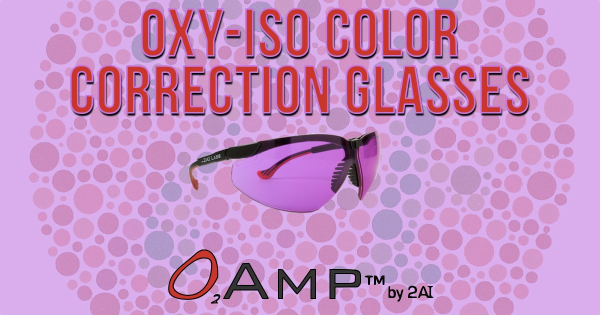 O2Amp Colorblind Correction Glasses [Review]