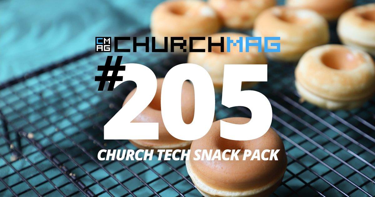 Church Tech Snack Pack 205
