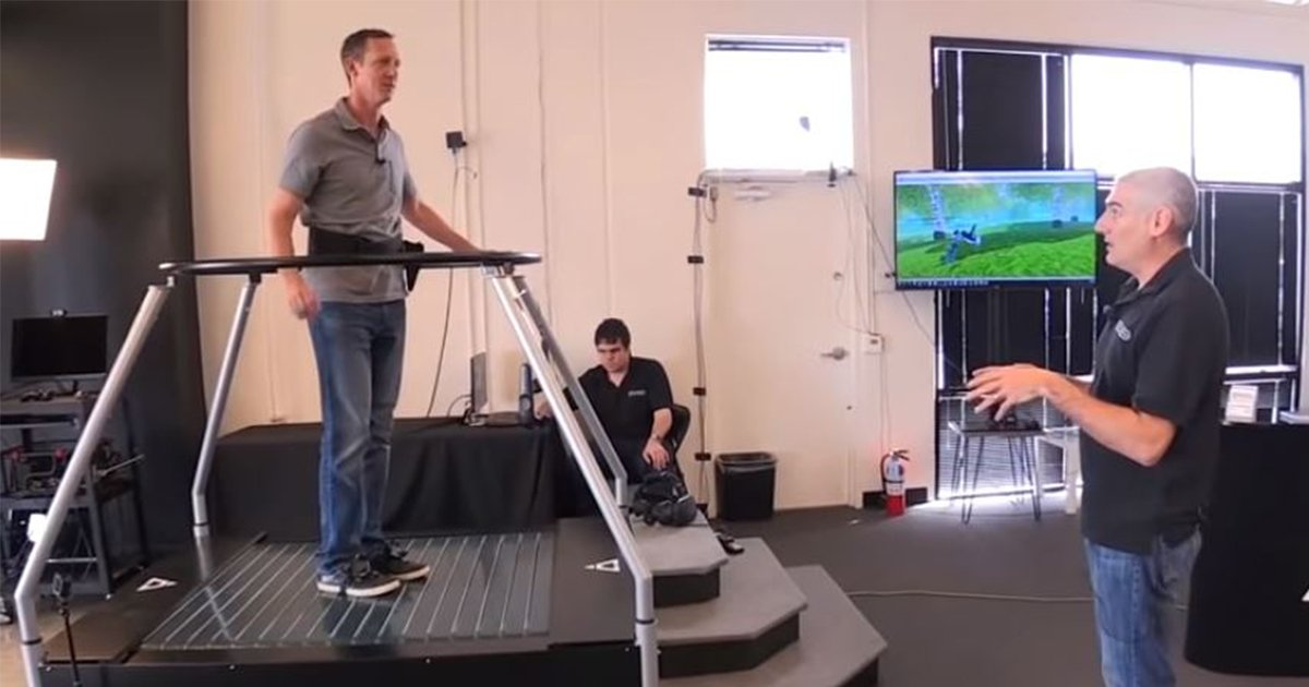 Infinadeck – A VR Treadmill [Video]