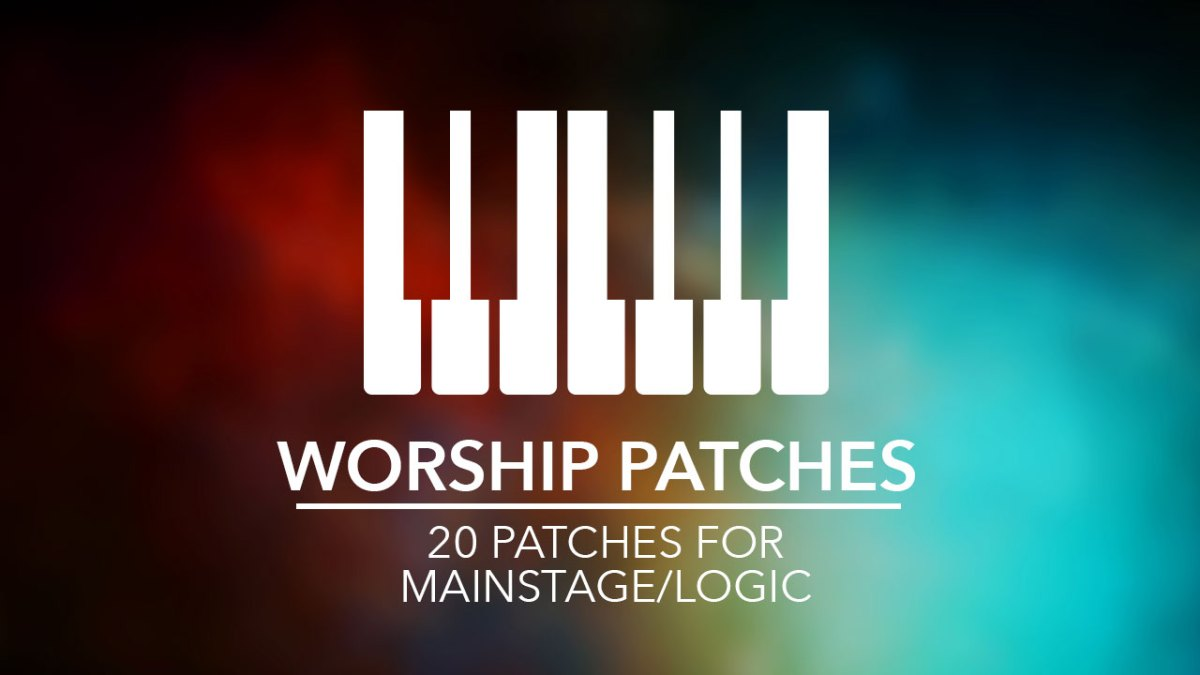 20 Free MainStage Patches for Worship Music | Church Media Drop