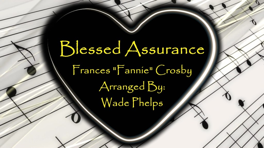 Blessed Assurance Singalong Christian Video HD. With perfectly timed Lyrics. Easy to follow and sing Video and Audio to enhance the Worship experience.