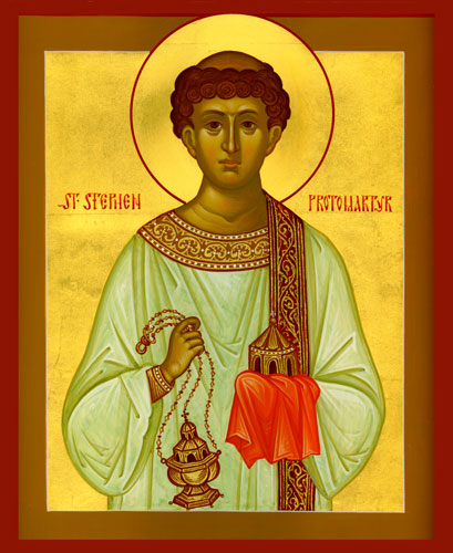 Image result for saint stephen deacon and martyr