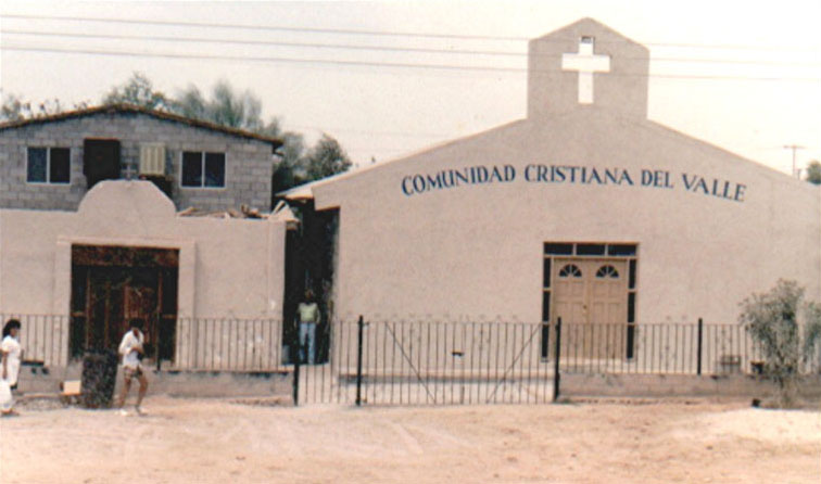 Early Mexicali church