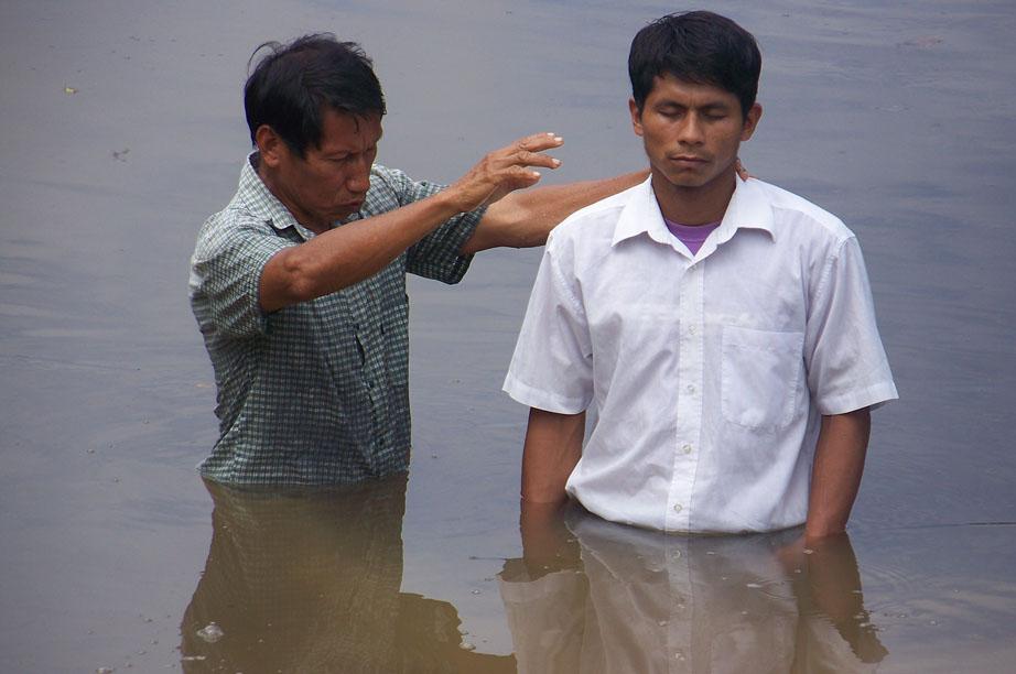 Baptism in Peru