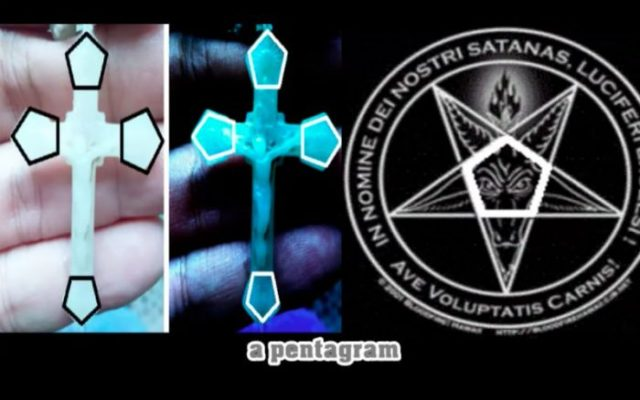 Image result for The difference between true and satanic rosary