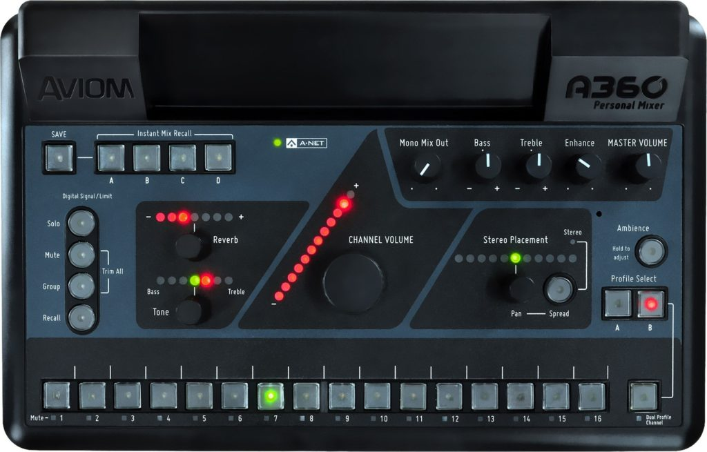church sound system - personal mixer image