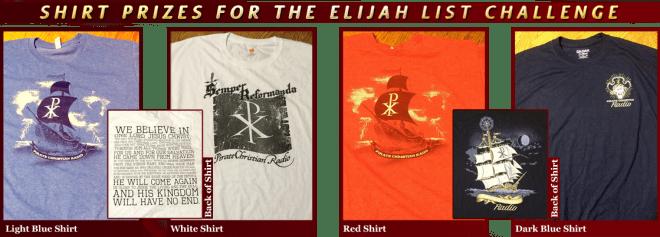 Elijah List Guess Who Culprit in the Pulpit Shirt Prizes