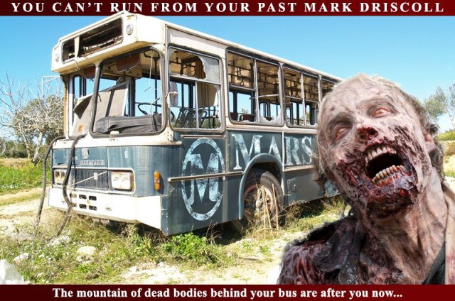 Mars Hill Zombie Bus after Mark Driscoll