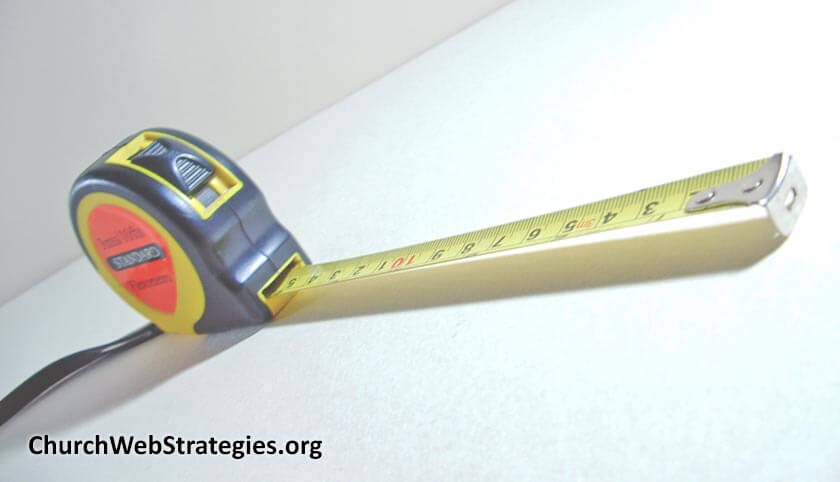extended measuring tape on table