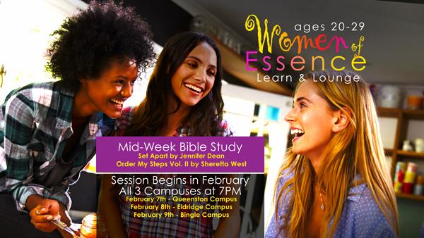 Women of Essence – Lounge & Learn Bible Study – Register Now