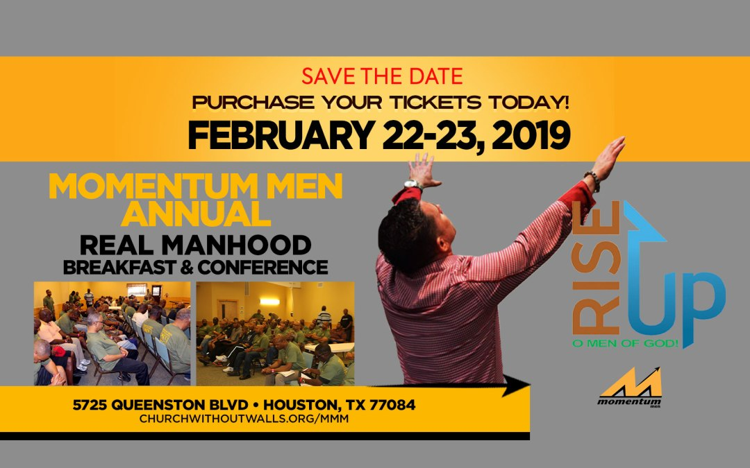 Join Momentum Men for the Annual Real Manhood Conference