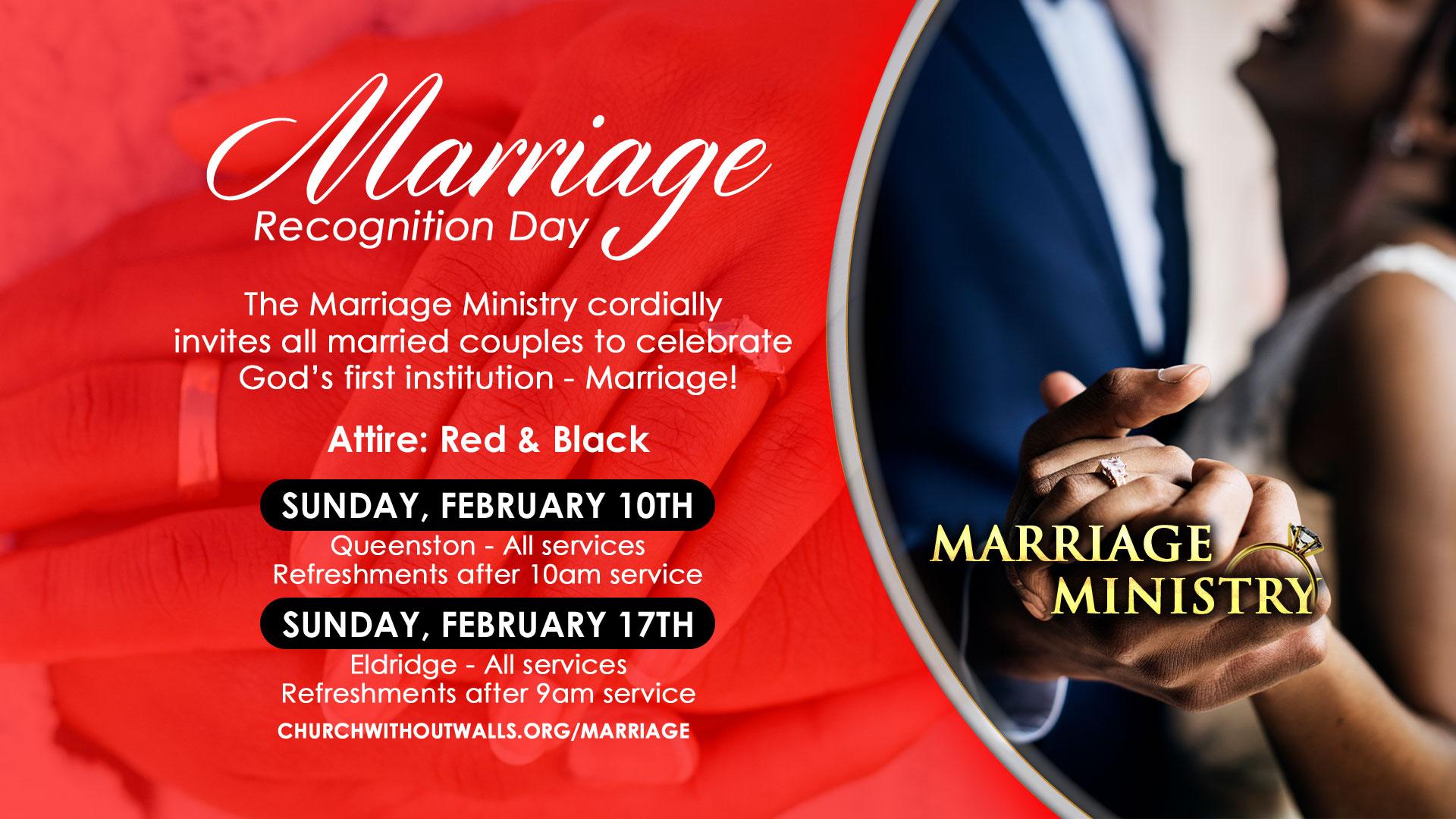 TCWW Marriage Ministry